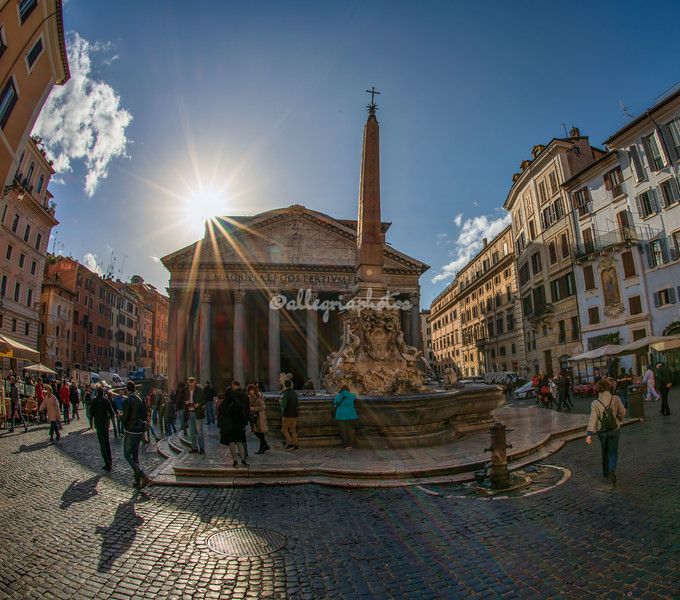 Piazza della Rotonda and the Pantheon