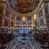 Interior of the Basilica dei Quattro Coronati, Rome
