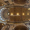 The Cupola and dome of St Peters Basilica, Rome