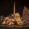 The Presepio and Christmas Tree, St. Peter's Square, Rome.