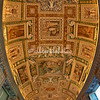 Ceiling of the Map Room, Vatican Museums, Rome