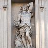 Detail of facade, Sant Andrea della Valle