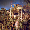 Detail of Neapolitan Christmas crib at SS Cosma e Damiano