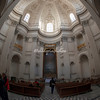 Interior of Sant Ivo della Sapienza
