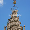 Borromini's spiral spire on Sant Ivo della Sapienza