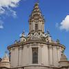 Borromini's spiral spire, Sant Ivo della Sapienza