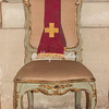 Chair inside Sant Ivo Della Sapienza