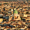 The Florence synagogue as seen from the Cupola of the Duomo.