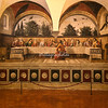 The Cenacolo (The Last Supper) by Ghirlandaio in the Sanctuary of Chiesa d'Ognissanti, Florence