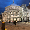 The Baptistery at night, Florence