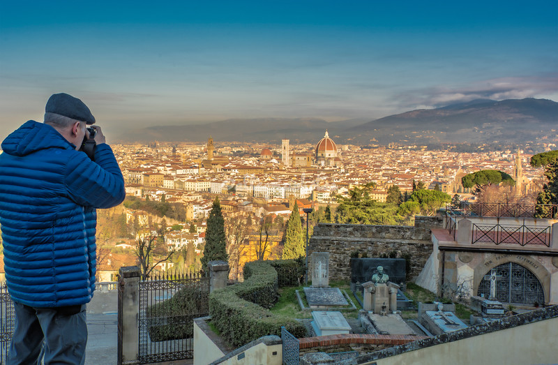 View of Florence from San Miniato,