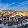 Panorama of Florence from the Northern Walkway of the Basilica, beneath Brunelleschi's Dome.