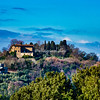 Villas on the hilltops of Florence