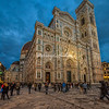 The Duomo at sunset, Florence