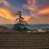 Sunset over Monti, Lunigiana