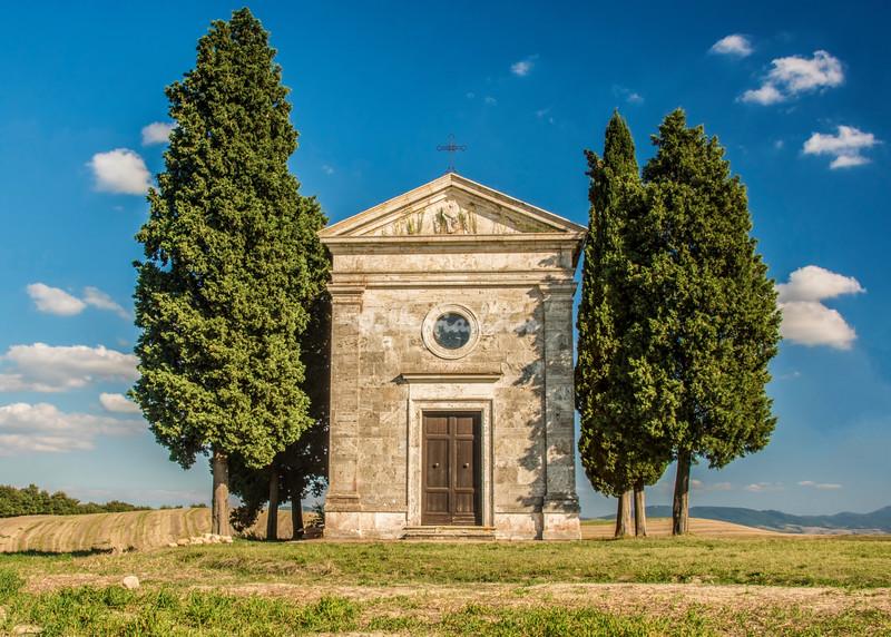 Chapel of the Madonna di Vitaleta, Pienza