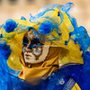 Vision in blue and yellow, Venice Carnival