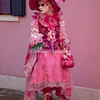 Lady in Pink on Burano