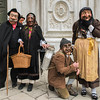 Whimsical countryfolk at Venice Carnival