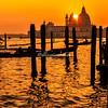 Sunset over Santa Maria Della Salute