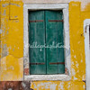 Yellow walls and Green shutters, Burano, Venice