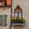 Yellow window box, Burano, Venice