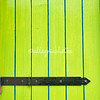 Green and blue shutter, Burano, Venice