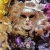 Carnival flower arrangement in the Danieli Hotel, Venice