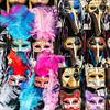Carnival masks for sale in the street, Venice