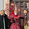 Bertilla meets the farmers, Venice Carnival