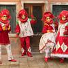 The Four Harlequins, Burano, Venice