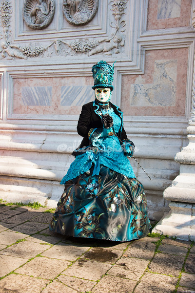 Lady in Blue at San Zaccaria