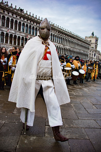 An evil looking Crusader, Venice