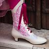 Footwear, Lady in Pink