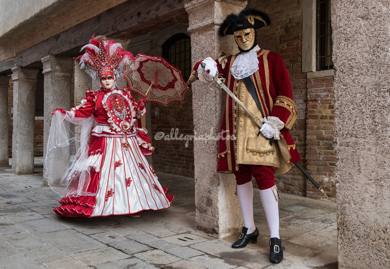 Defending the lady's honor, Venice