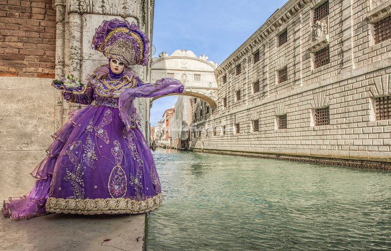 By the Bridge of Sighs, Venice