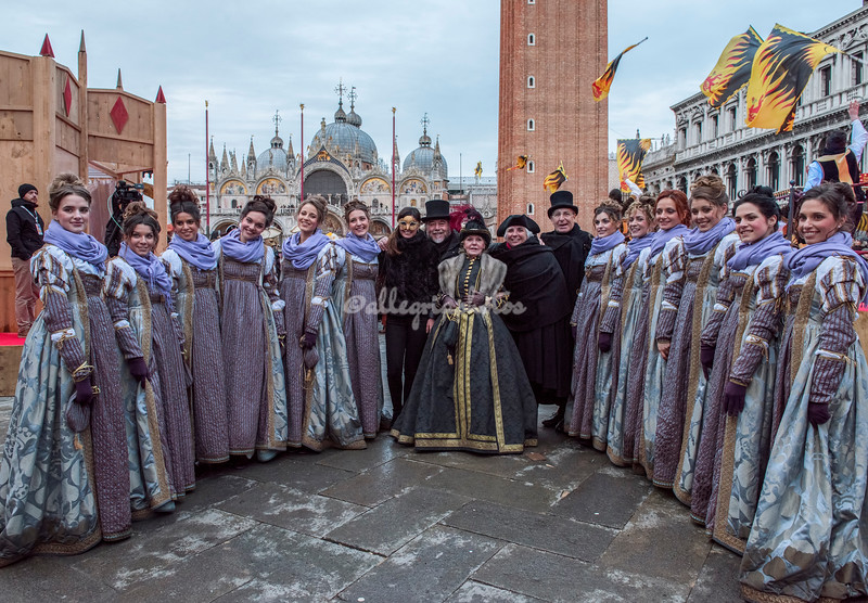The Twelve Marias, Piazza San Marco, Venice