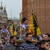 The Twelve Marias are carried into Piazza San Marco, Venice