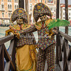 The Harlequins at Punta della Dogana