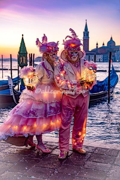 Pink fantasy at dawn