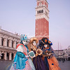 Three ladies on Piazza San Marco