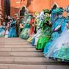 Costumers at Campo Manin, Venice