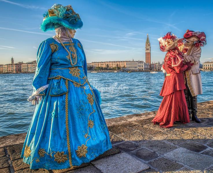 Costumes on San Giorgio Maggiore