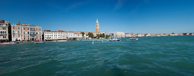 A view of the Grand Canal from Punta della Dogana, Venice