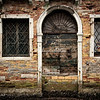 Venetian door and window