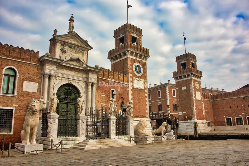 The Arsenale, Venice