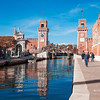 Entrance gate to the Arsenale, Venice