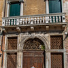 Venetian door and windows, Dorsoduro