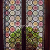Antique Blown glass window, Hotel Novecento, Venice