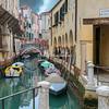 The canal and colonades, Sotoportego De Le Colonete, Venice